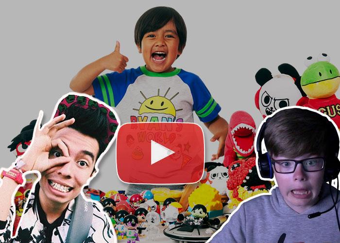 youtubers niños